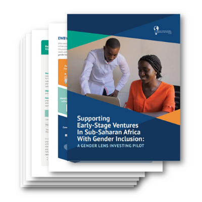 Download EWB's Gender Lens Investing Report Now