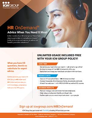 HR OnDemand flyer