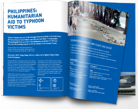 Humanitarian aid to typhoon victims, Philippines - download pdf