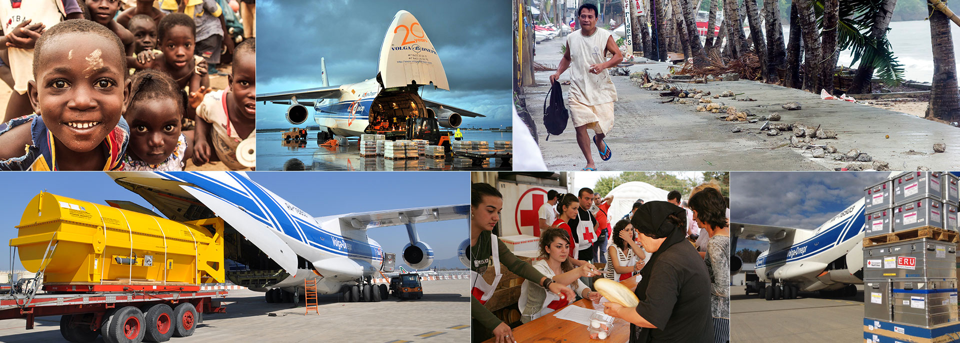 Experts in Humanitaian Aid Delivery worldwide