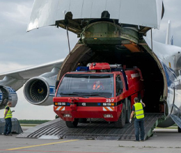 "Leipzig/Halle Airport is ideally equipped for ""humanitarian logistics"