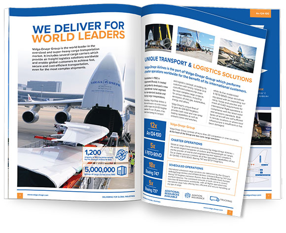 Download Volga-Dnepr Airlines Information Brochure