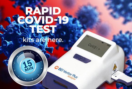 Rapid COVID-19 test kits