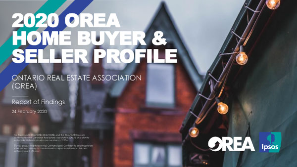 2020 Home Buyer Seller Profile