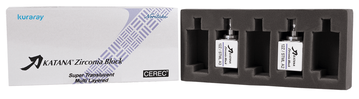KATANA Zirconia Block sample Box
