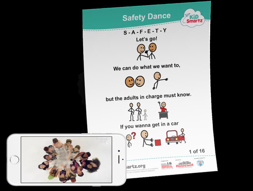 KidSmartz Safety Dance Full Lyrics