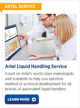 Artel Liquid Handling Service