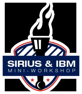 SIRIUS & IBM MINI-WORKSHOP