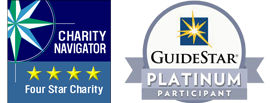 Charity Navigator and Guidestar Platinum