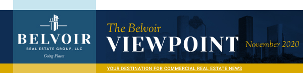 The Belvoir Viewpoint - November 2020 - Your destination for commercial real estate news