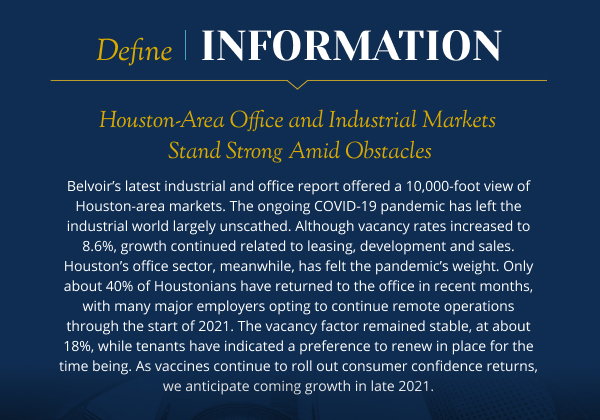 Houston-Area Office and Industrial Markets Stand Strong Amid Obstacles