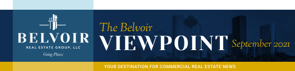 The Belvoir Viewpoint - September 2021 - Your destination for commercial real estate news