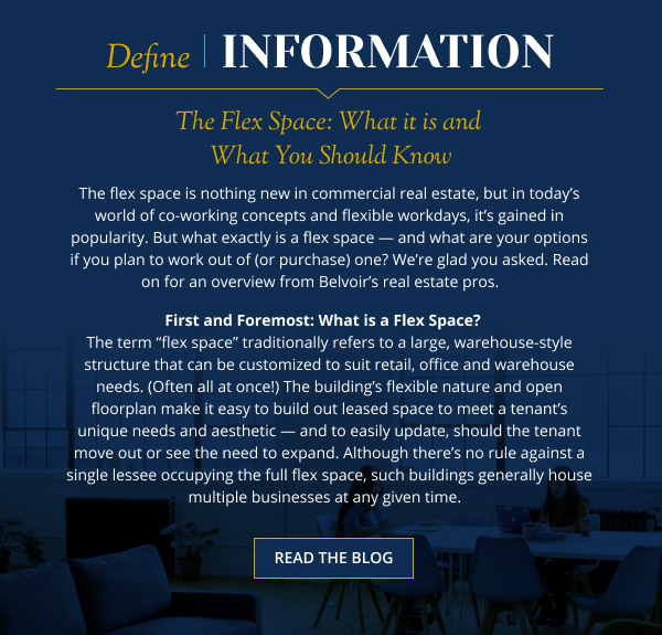 The Flex Space: What it is and What You Should Know