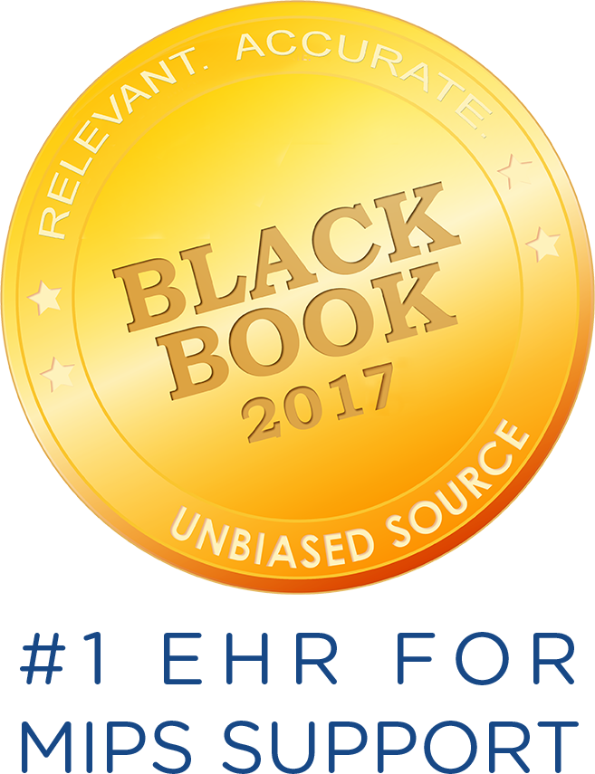 Black Book 2017 - #1 EHR for MIPS Support