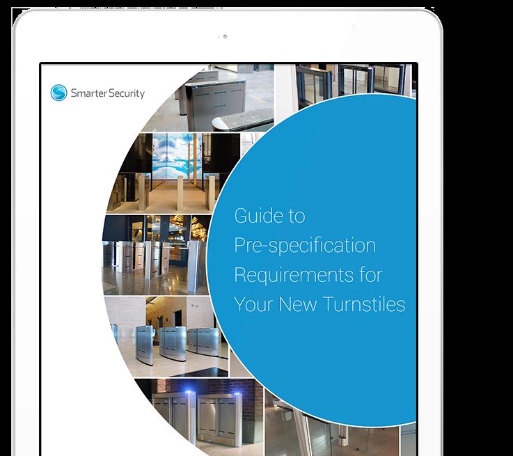 Smarter Security Ipad graphic
