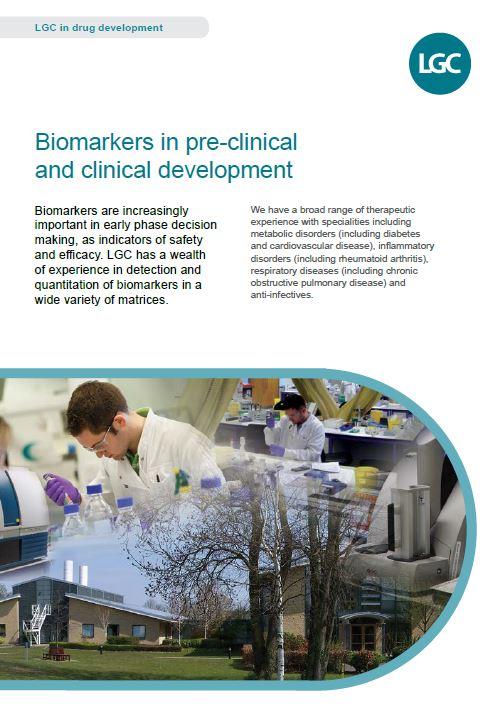 LGC Biomarker fact sheet