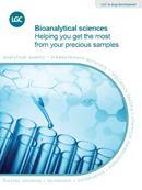 LGC Bioanalytical sciences brochure