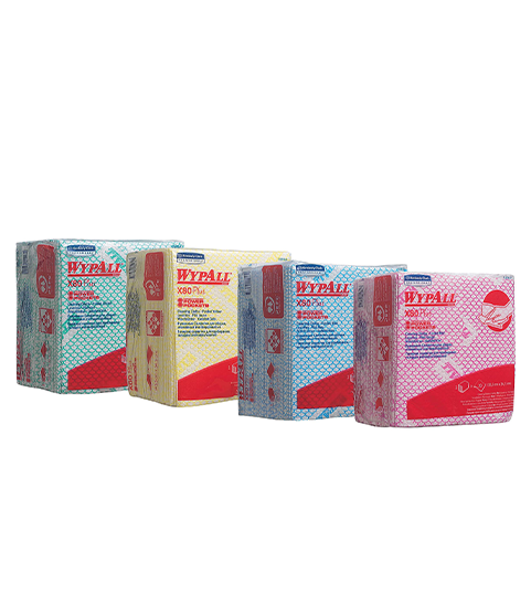 WypAll® X80 Plus Cleaning Cloths