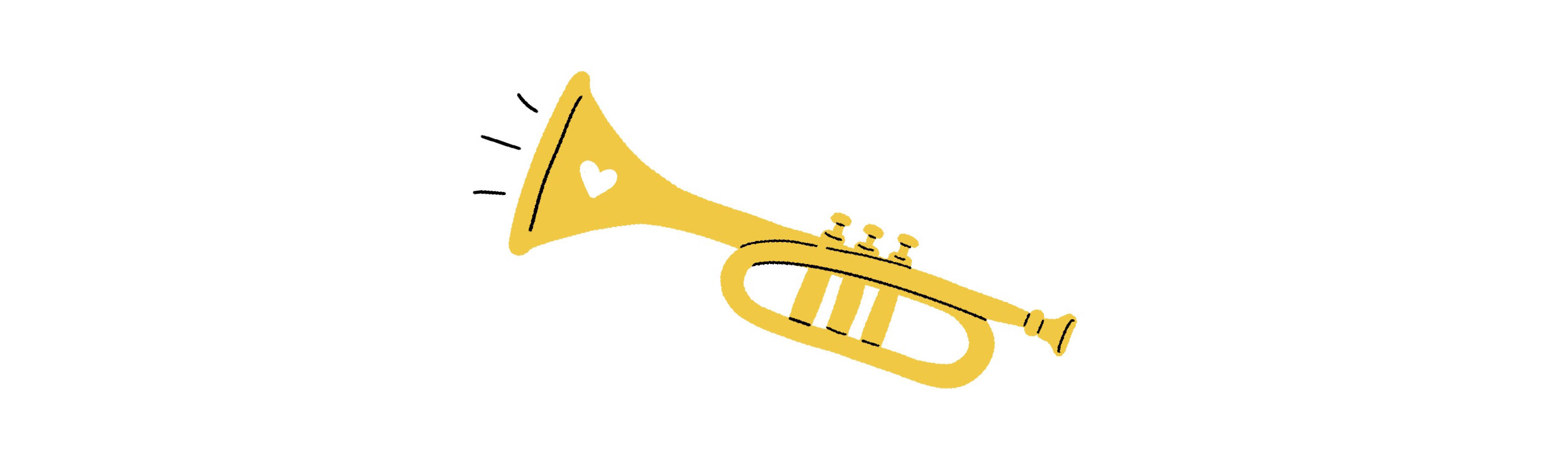 Trumpet played with love