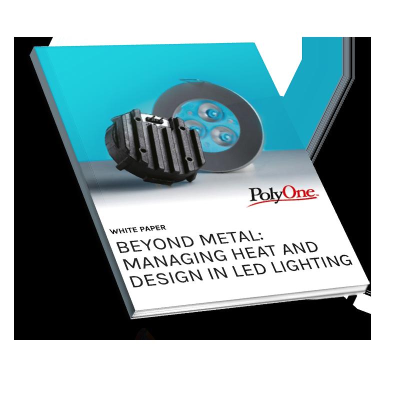 Beyond Metal- Managing Heat and design in LED lighting