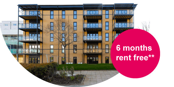One bed apartments from £105,000 for 25% share