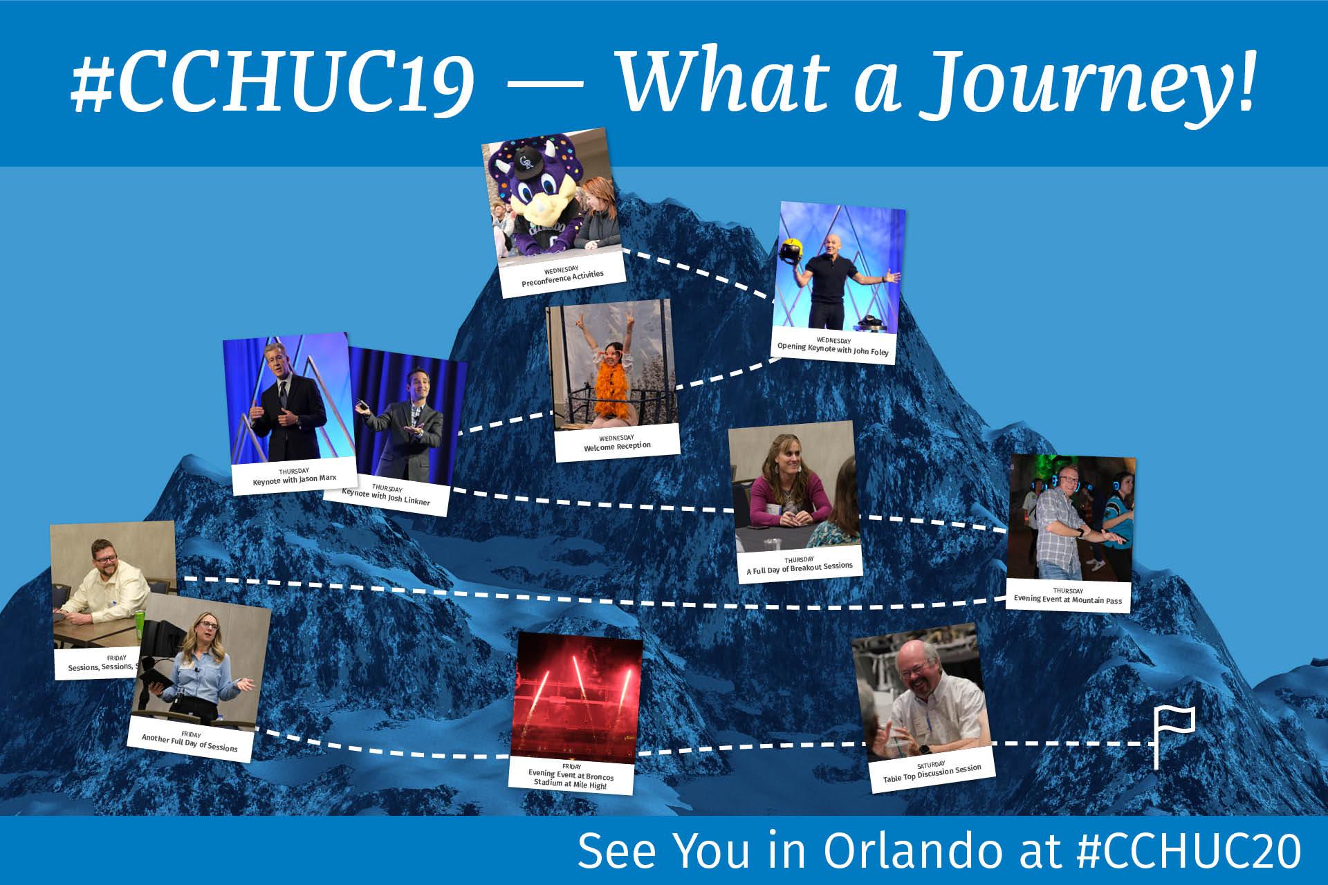 #CCHUC19 - Whatt A Journey!
