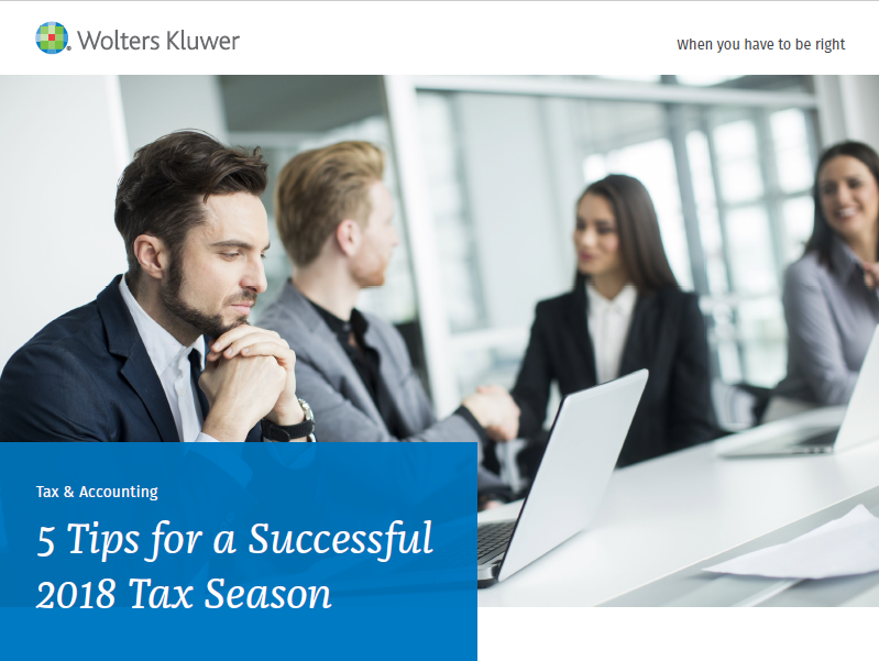 5 Tips for a Successful 2018 Tax Season