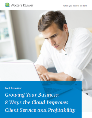 Growing Your Business: 8 Ways the Cloud Improves Client Service and Profitability