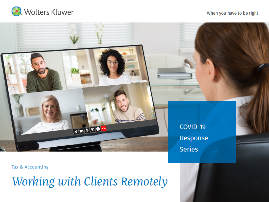 COVID-19 Response Series - Working with Clients Remotely eBook