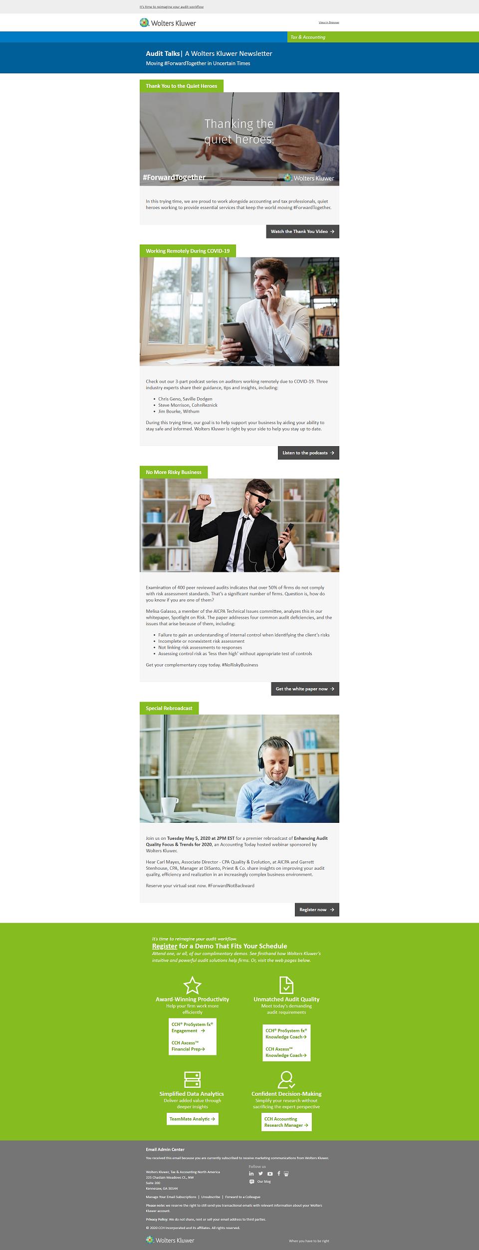Audit Intelligence Newsletter