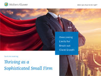 Thriving as a Sophisticated Small Firm