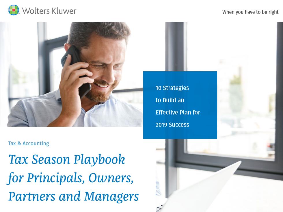 Tax Season Playbook