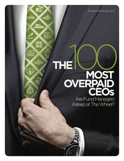 100 Most Overpaid CEOs