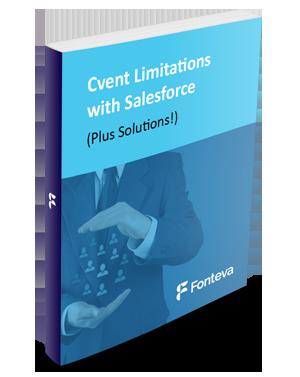 Cvent and Salesforce Limitiations