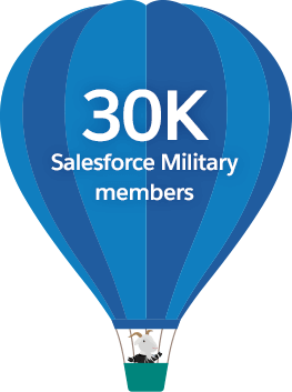 20K Salesforce Military Trailblazing Members