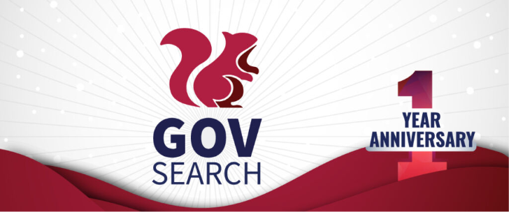Join us in celebrating 1 year of GovSearch