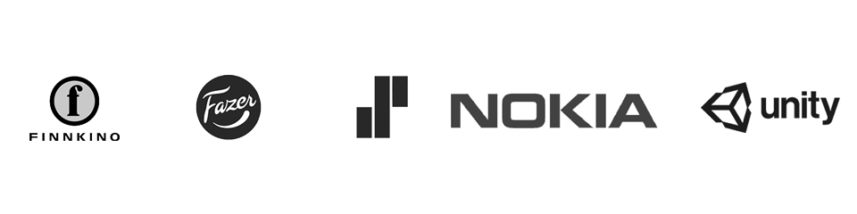 Finnkino Fazer Solita Nokia Unity Technologies