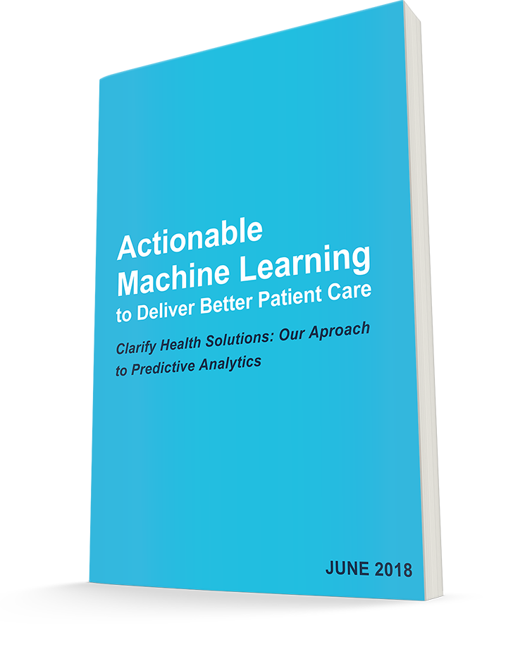 Actionable Machine Learning Whitepaper cover