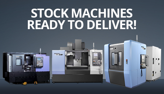 Stock Machines Ready to Deliver