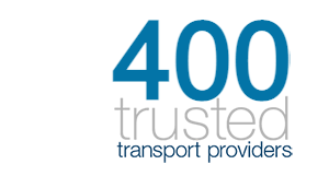 400 trusted transport providers