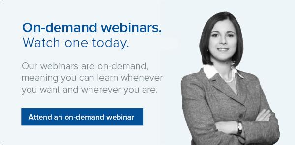 Watch a Livingston On-demand webinar today.