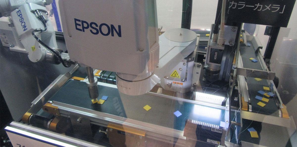 ロボット Insight スカラロボットで世界トップのセイコーエプソン