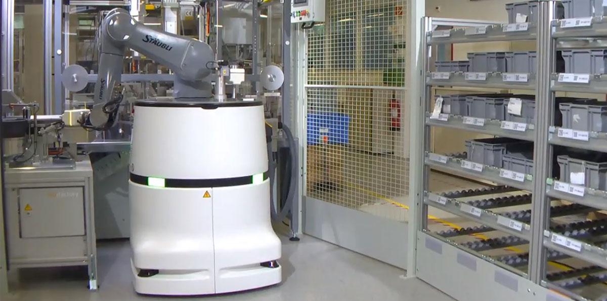 ロボット Insight 産業用ロボでも存在感を発揮する欧州の老舗メーカーストーブリ