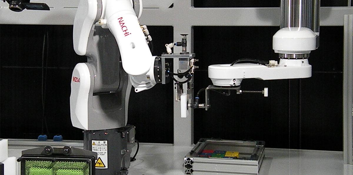 ロボット Insight ロボットを核にした総合機械メーカーへ転換を図る不二越