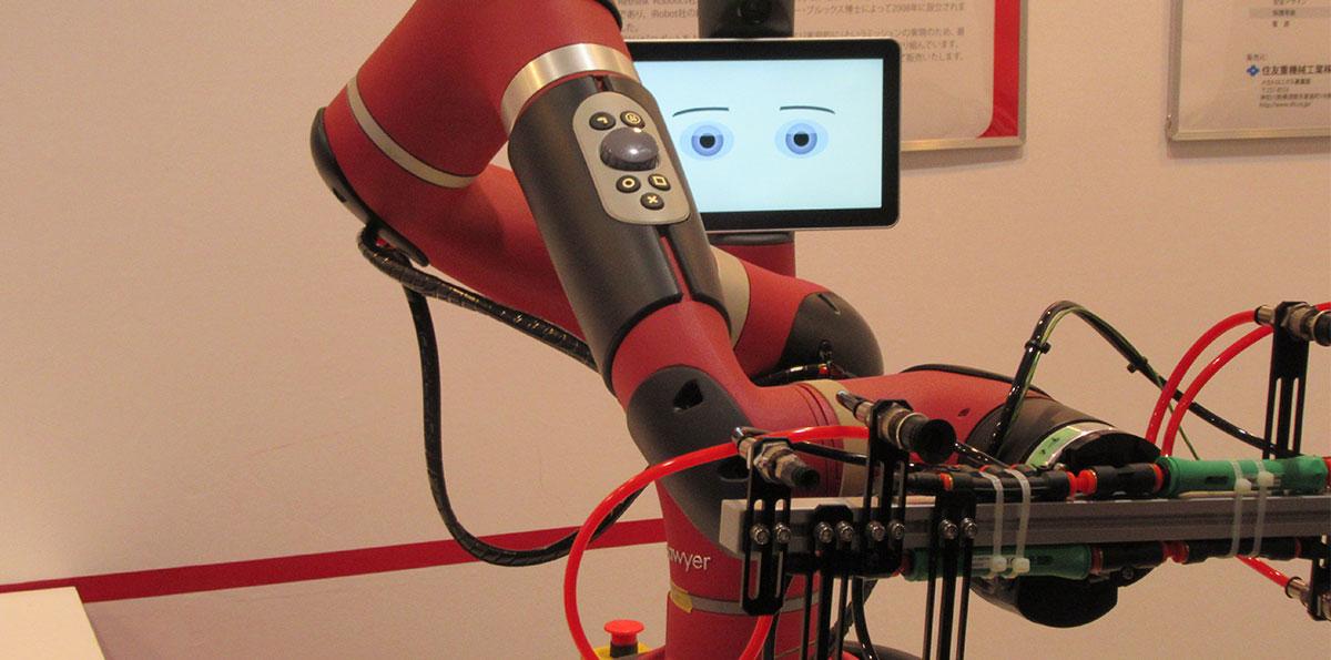 ロボット Insight 部品からロボット本体にも展開する住友重機械工業