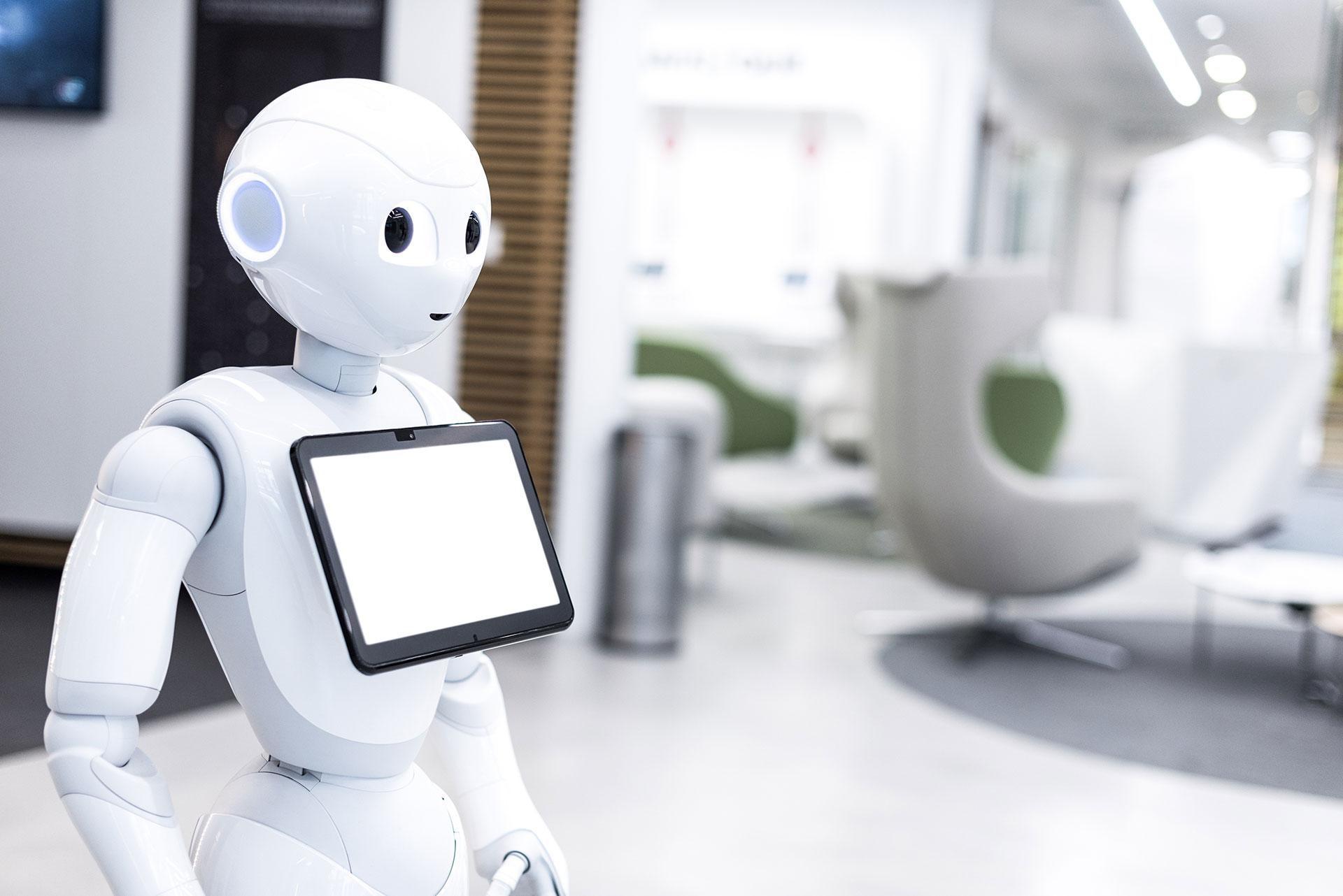 ロボット Insight コロナ禍における非接触サービスを実現するロボット