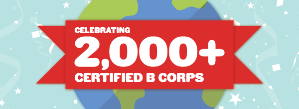 #2000BCorps is worth celebrating!