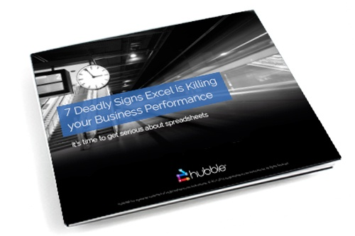 7 Deadly Signs Excel is Killing Your Business Performance eBook image