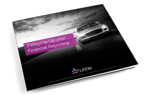 3 Ways to Up Your Financial Reporting eBook image