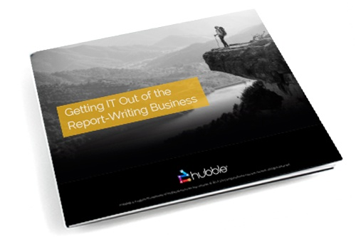 Getting IT Out of the Report-Writing Business eBook image